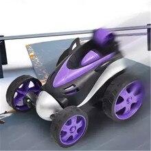 цена на RC Cars Wireless remote control car tumbling stunt dump truck toy children electric cool car kid 360 degrees hovering boy gift