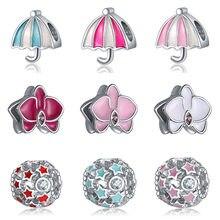 DIY charms plata de ley, Pulsera original, joyería de Día de San Valentín riverdale bijoux sieraden oorbellen beads jewellery