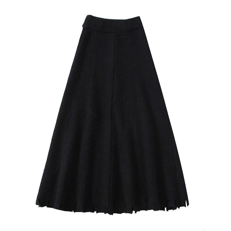 Early Summer 2020 Women's Popular Models Were Thin And Tall Black Skirt A-line Skirt  901