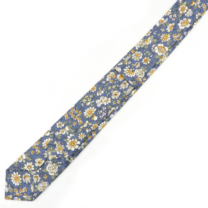 Image 4 - New Style Floral Brisk Soft Texture Tie 100% Cotton For Men&Women Casual Dress Handmade Adult Wedding Tuxedo Tie Accessory Gift