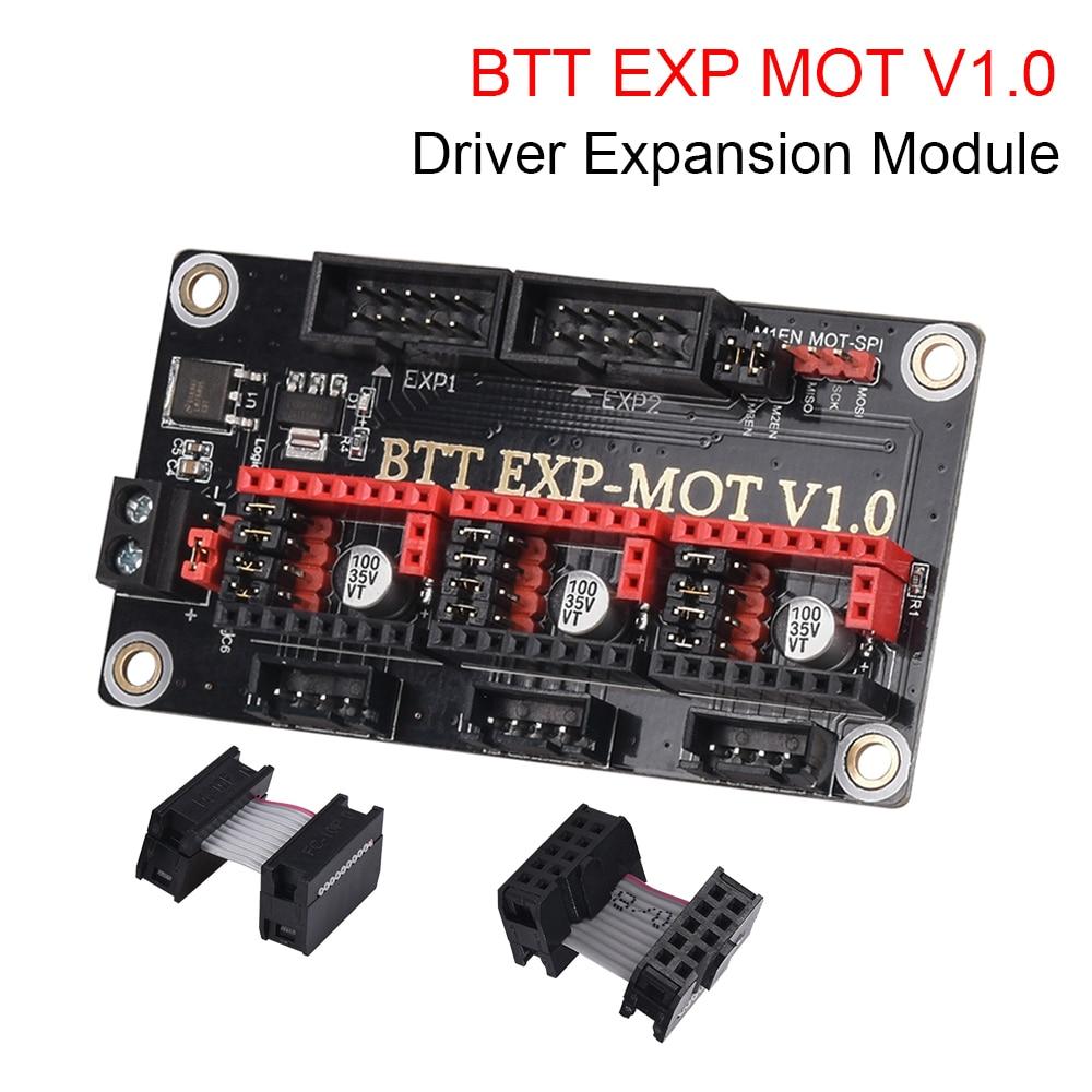 BIGTREETECH EXP MOT V1.0 расширительный модуль драйвера, детали для 3D-принтера SKR V1.4 Turbo SKR PRO TMC2209 TMC2208 Ender 3