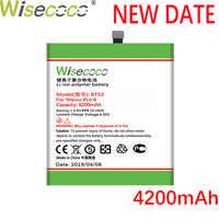 Wisecoco BT40 BT41 BT51 BT42C BT53 Batterie Für Mei zu MX4 MX5 MX6 Pro M2 Hinweis PRO 6S M575M telefon Batterie Ersetzen + Tracking Nummer