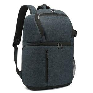 Image 2 - حقيبة ظهر للكاميرا مقاومة للماء متعددة الوظائف ، حقيبة سفر محمولة ذات سعة كبيرة ، حقيبة عدسة