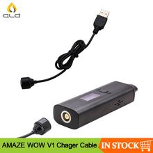 ALD AMAZE WOW V1 magnetyczny kabel ładujący USB do zadziwiania WOW V1 parownik do suchych ziół tanie tanio Wyjście USB AMAZE WOW V1 kit Magnetic Charging