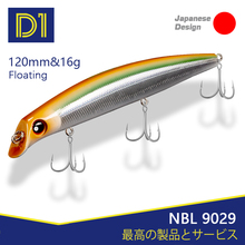 NOEBY Minnow Fishing Lure 120mm 16g 150mm 24g Wobblers Jerkbait Hard Bait Floating Saltwater Artificial Lures