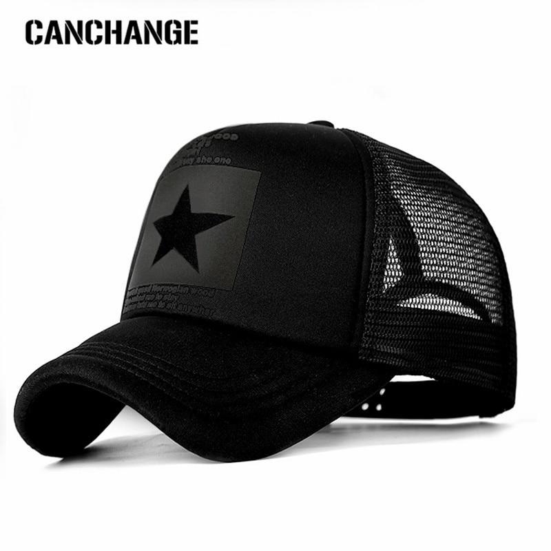 CANCHANGE Fashion Brand Baseball Cap Women Baseball Hat Breathable Men Women Summer Mesh Cap Baseball Caps Gorras Dropshipping