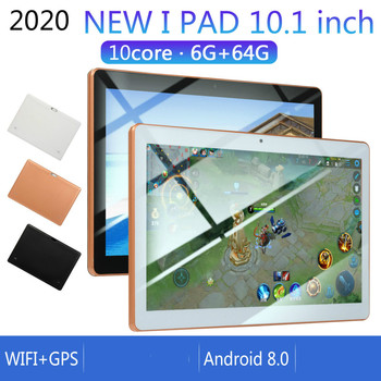 2020 New 10 Inch Android 8.0 RAM 6GB ROM 128G Android Tablet with Dual Card Dual Camera Bluetooth WiFi Dual Camera kids tablet