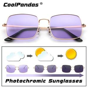 Image 1 - 2019 แฟชั่นสีม่วงสีฟ้าPhotochromicแว่นตากันแดดผู้หญิงUV400 สุภาพสตรีแว่นตาSunแว่นตาขับรถแว่นตาZonnebril Dames