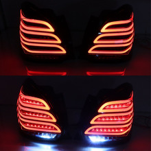 2 pièces feu arrière pour Suzuki Swift, feu antibrouillard + feu de frein + marche arrière et clignotant dynamique, pour LED, 2017, 2018, 2019