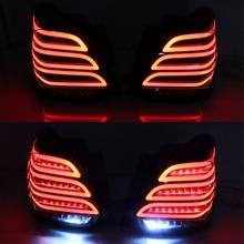 LED luz trasera antiniebla, luz de freno, intermitente dinámico, para Suzuki Swift 2017 2018 2019 2020, 2 uds.