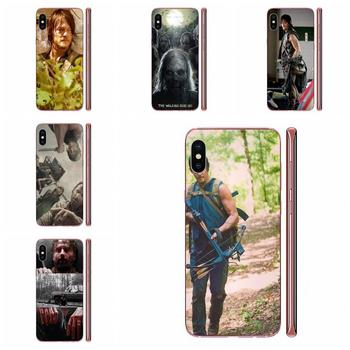 Darly Dixon The Walking Dead Zombies For Huawei Nova 2 V20 Y3II Y5 Y5II Y6 Y6II Y7 Y9 G8 G9 GR3 GR5 GX8 Prime 2018 2019 image