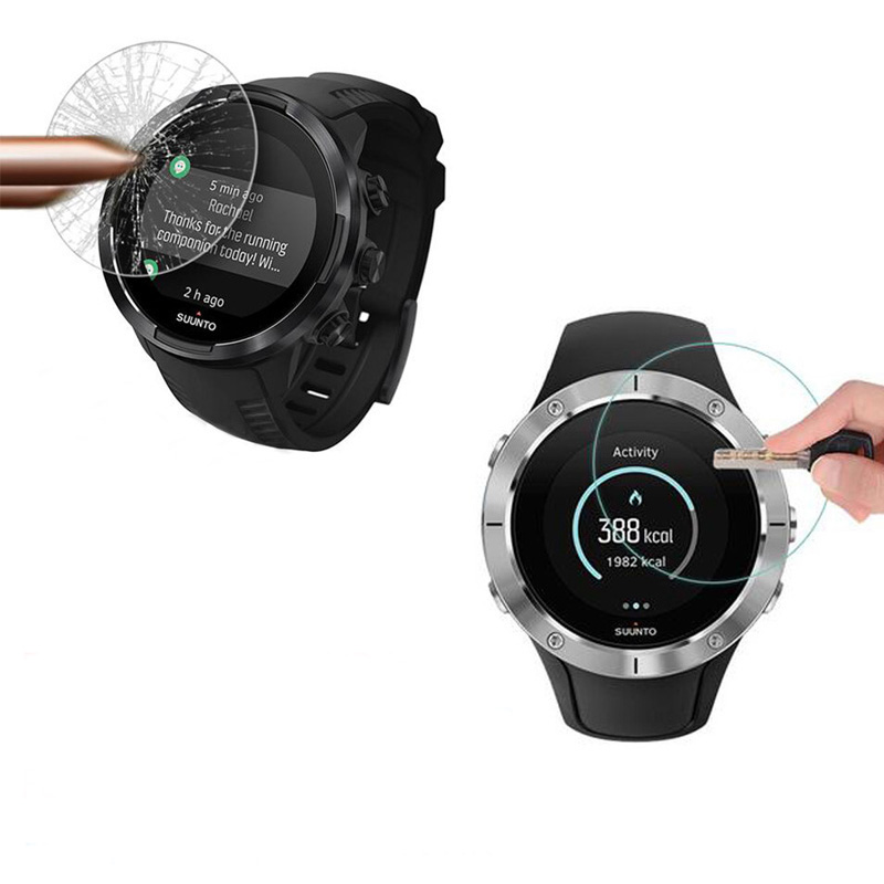 Tempered Glass Screen Protector Film For Suunto 9/5/D5/3 Fitness/Traverse Alpha Spartan Trainer Wrist HR/Ultra/Sport Smart Watch