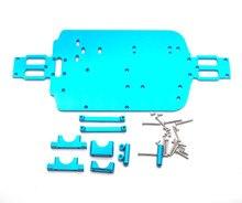 Atualizar peças do chassi de metal para wl a959 a979 a959b a979b rc substituição do carro