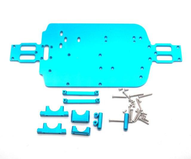 Piezas de chasis de Metal para coche de control remoto WL A959 A979 A959B A979B
