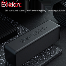 M6 Wireless Bluetooth Speaker Subwoofer High Sound Quality Home 3D Surround Mini Small Portable Double Speaker High Power