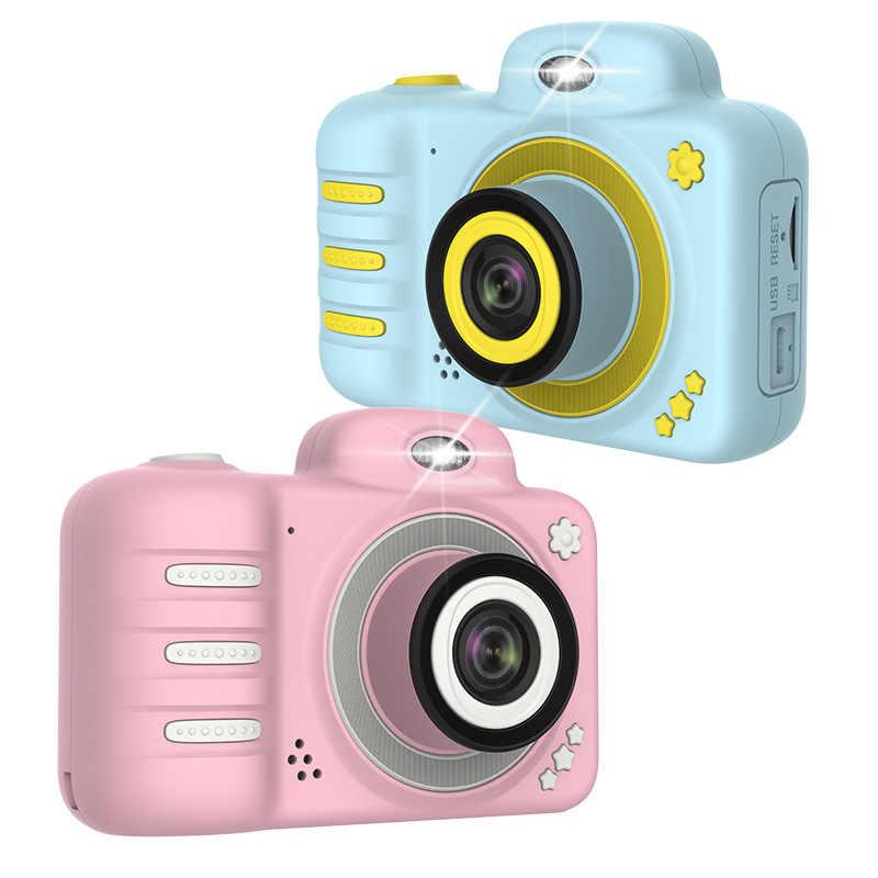 2019 nouvellement C3 enfants caméra 1080P HD Mini Rechargeable enfants numérique avant arrière Selfie caméra enfant caméscope LCD écran cadeau