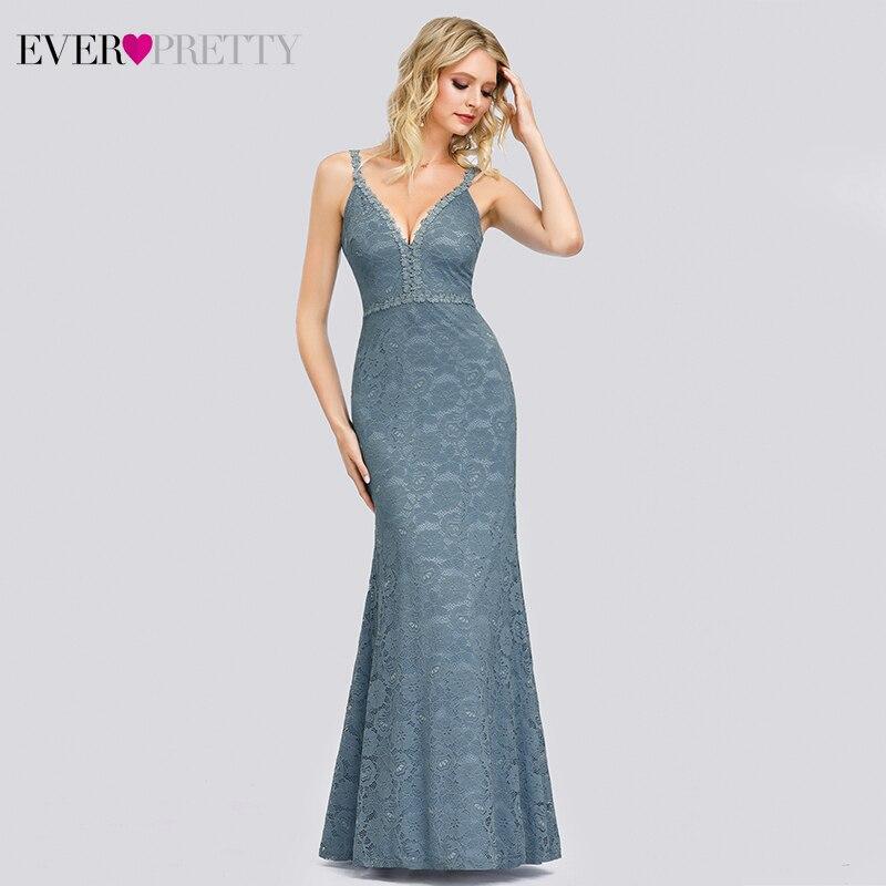 Super Promo Elegant Mermaid Prom Dresses Long Ever Pretty