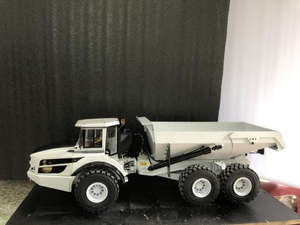 1/14 Dump-Truck Construction Hydraulic Vehicle Child Boy Rc-Toy Articulated Christmas-Gifts