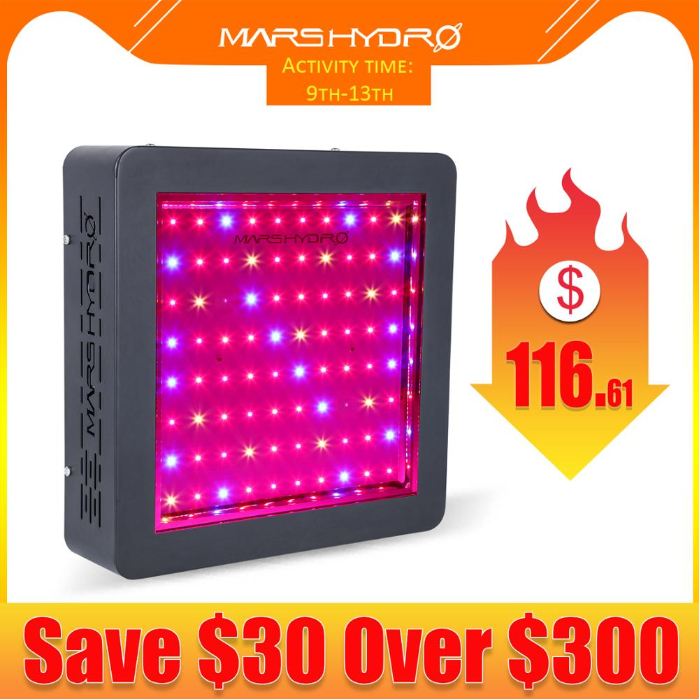 Mars Hydro LED Grow Light Mars II 400W Full Spectrum Panel Hydroponic System For Planting Vegetables Indoor Garden