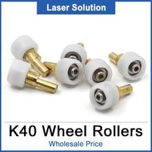 12pcs/Lot K40 Part Head Mount Carriage Wheel Rollers Set Laser Engraver For DIY CO2 Mini Laser Stamp Engraving Cutting Machine