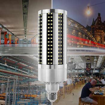50W 54W 60W Super Bright E27 Led Light Bulb Warehouse Factory Bombillas Led Corn Light E39 AC85-265V 2835 SMD Basement Downlight