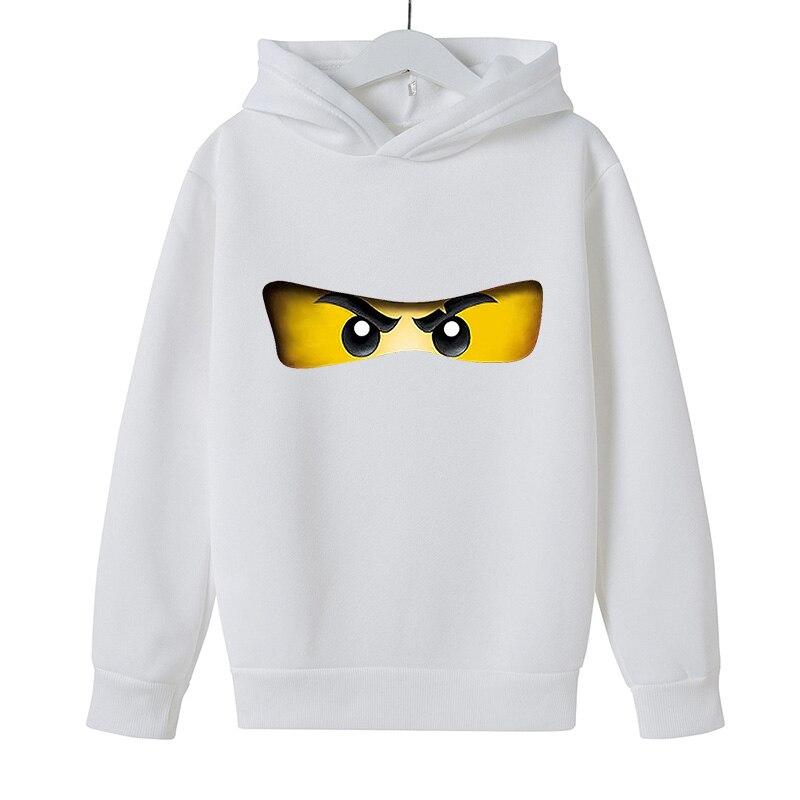 Cartoon comic Pullover kid top Autumn winter Clothes Ninjago hoodie Boy cotton Long sleeve Casual Sweatshirt Legoe Toy printing 3