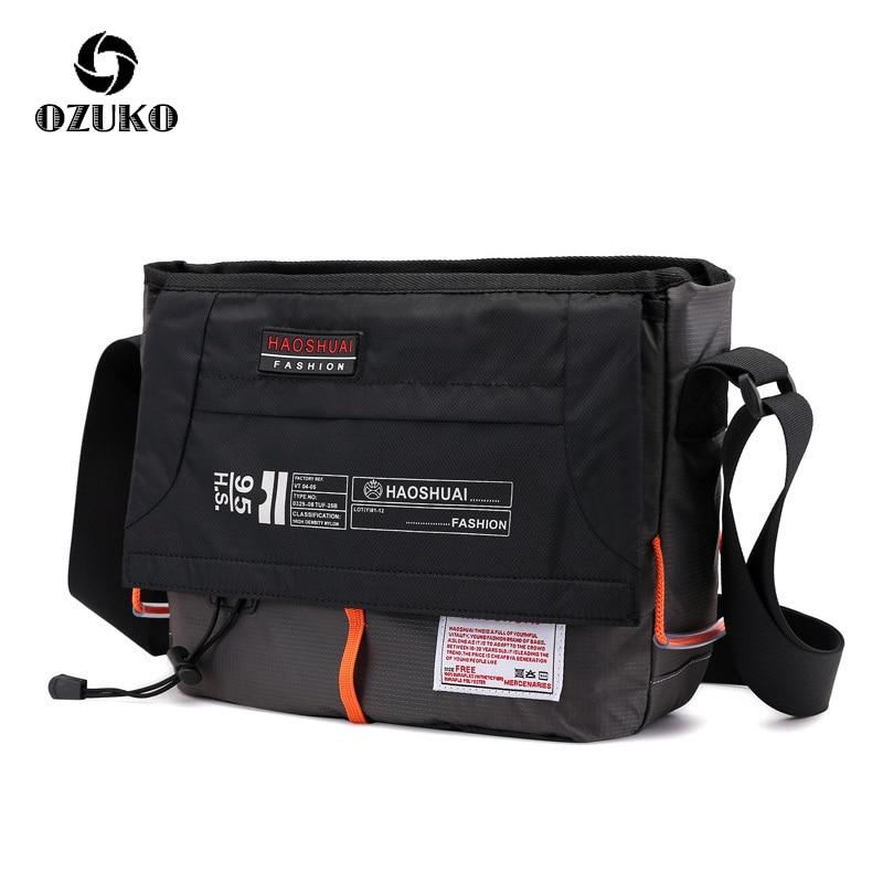 New Men Women Casual Messenger Bag High Quality Waterproof Satchel Fashion Crossbody Shoulder Bag Male Travel Business Briefcase