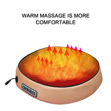 New Electric kneading Foot Massager Shiatsu Foot Massage Machine Feet Guasha Sole Infrared Heated Leather Massager Gift цена 2017