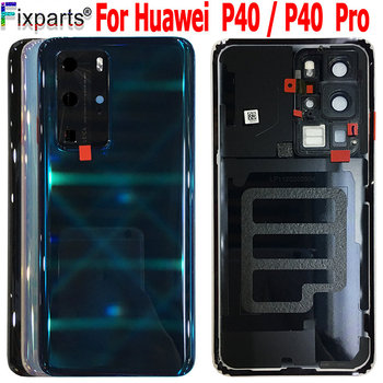 Origianl for Huawei p40 pro Battery Cover With Camera Lens for Huawei p40 pro back Battery Cover for huawei p40 back cover фото