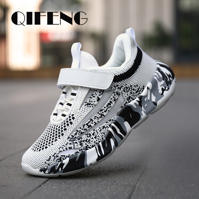 Children Mesh Casual Shoes Boys Sneakers Kids Sport Shoes For Boy Light Soft Flat Shoes Kids Toddler Sneakers Summer Footwear