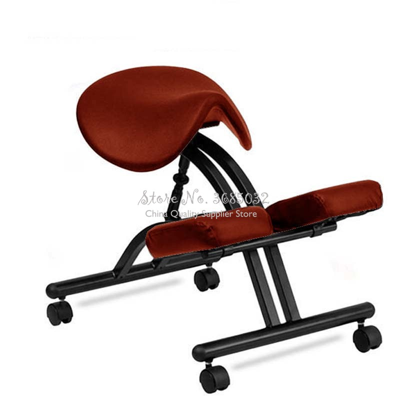 Lifting Kneeling Chair Correction Saddle Chairs Adjustable Learning Stools Antihump Ergonomic Posture Computer Stool With Wheel