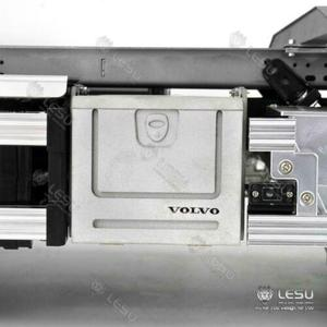 Image 3 - 1/14 RC LESU Model parçaları Metal araç kutusu 1/14 VOL FH16 FH12 traktör kamyon TH15254