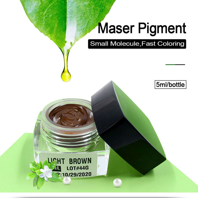 Maser Professional Microblading Pigment for Eyebrown Permanent Makeup Microblading Pen Tattoo Pigmento Microblading Accessory 1