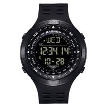 PASNEW Watch Men's LCD Sports Watch Men's 50M Waterproof Swimming Watch hologe mannen
