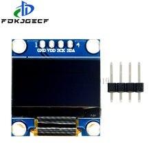 4-контактный 0,96 дюймовый oled IIC Серийный белый/синий/желтый синий oled-дисплей модуль 128X64 I2C SSD1306 12864 плата с ЖК-экраном для Arduino