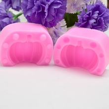Buy Silicone Cake DIY Mold Halloween Pumpkin Candle Handmade Soap Moulds Candle Making Mold Soap DIY Molds For Art CraftCM directly from merchant!