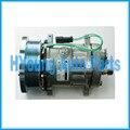 Автоматический компрессор переменного тока для гусеницы SD7H15 Sanden 4487 4726 EAR MNT 24V 8PV 133 мм HORIZ. PAD