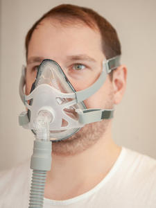 BMC Cpap-Mask Face-Headgear with And Connect F1A/F1B M/l-Size