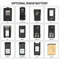 Различные типы walkie talkie battery 5R 3107 GP328 M7 специальная Радио батарея walkie talkie Custom battery