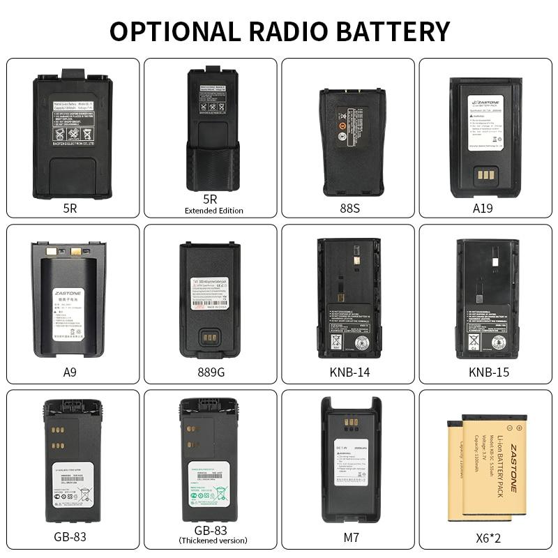 Various Types Of Walkie-talkie Batteries 5R 3107 GP328 M7 Special Radio Battery Walkie-talkie