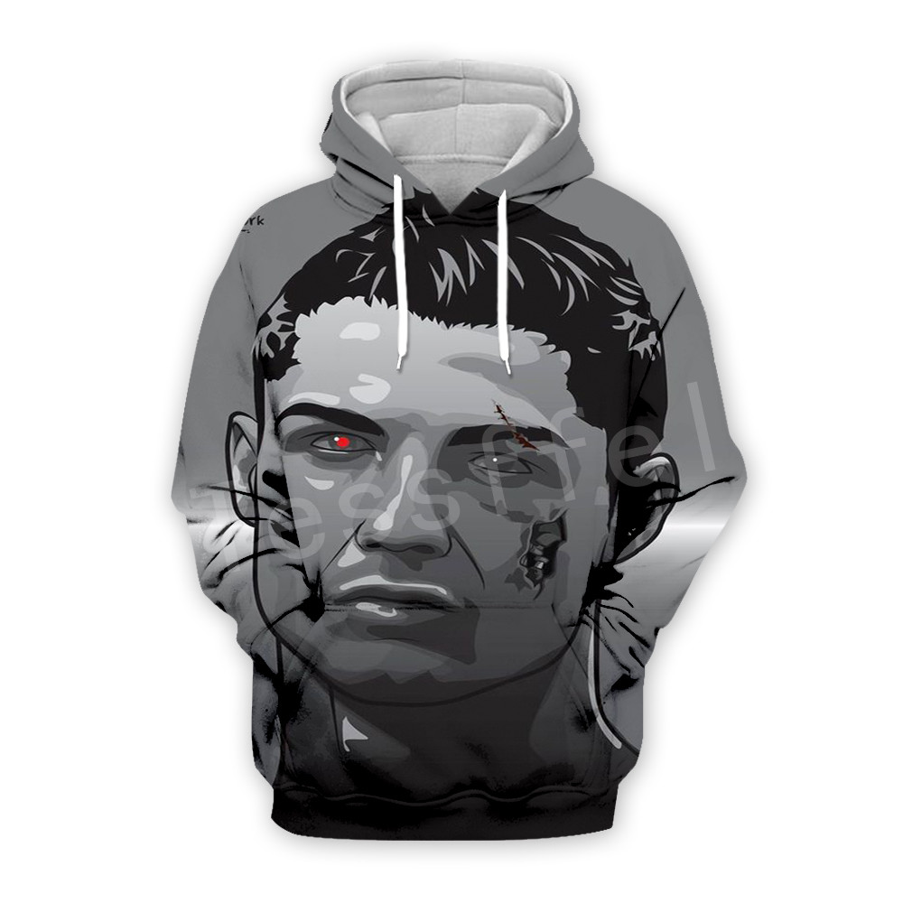 Tessffel Cristiano Ronaldo Athletes Fitness Tracksuit New Fashion 3D full Print Zipper/Hoodie/Sweatshirt/Jacket/Mens Womens s-8