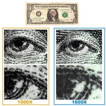 Sanhooii 1000x/1600x Led Usb Microscópio Digital Endoscópio Câmera Microscopio Para O Telefone Móvel Reparação De Inspeção Da Pele Do Cabelo