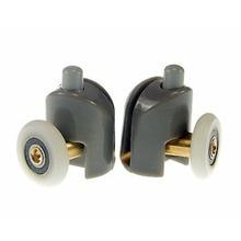 Bottom Pulley 25mm Dia Adjustable Shower Door Roller Runner Wheels Pulleys Good Quality