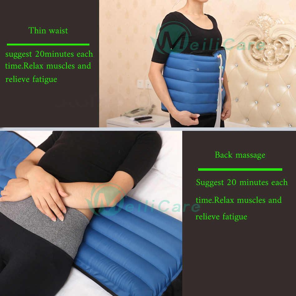 Pressotherapie Luft Kompression Bein Fuß Massager Vibration Infrarot Therapie Arm Taille Pneumatische Air welle druck maschine