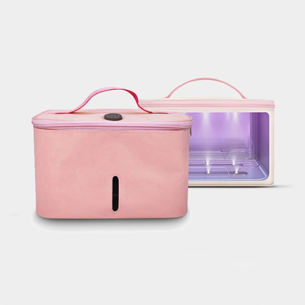 Uv Sterilizer Toothbrush Bag Disinfection Box Usb Uv Disinfection Bag Toothbrushes Storage Cleaner Portable Brush Sterilizer
