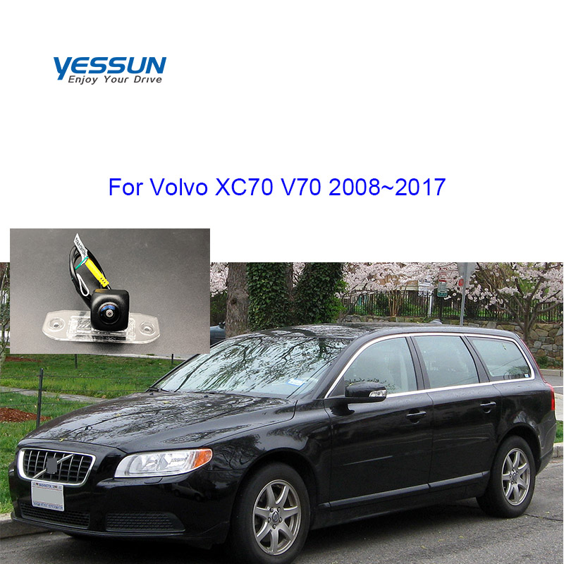 Yessun 175 Degree Fisheye Starlight Night Vision Car Reverse Camera Wifi Rear Camera For Volvo C70 V70 XC 70 XC70 2008~2017