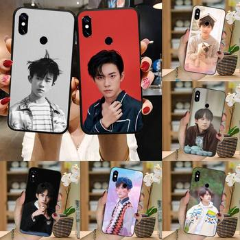 TFBOYS Jackson Yee band singer cover coque funda Phone Case For Xiaomi Redmi note 7 8 9 t k30 max3 9 s 10 pro lite image