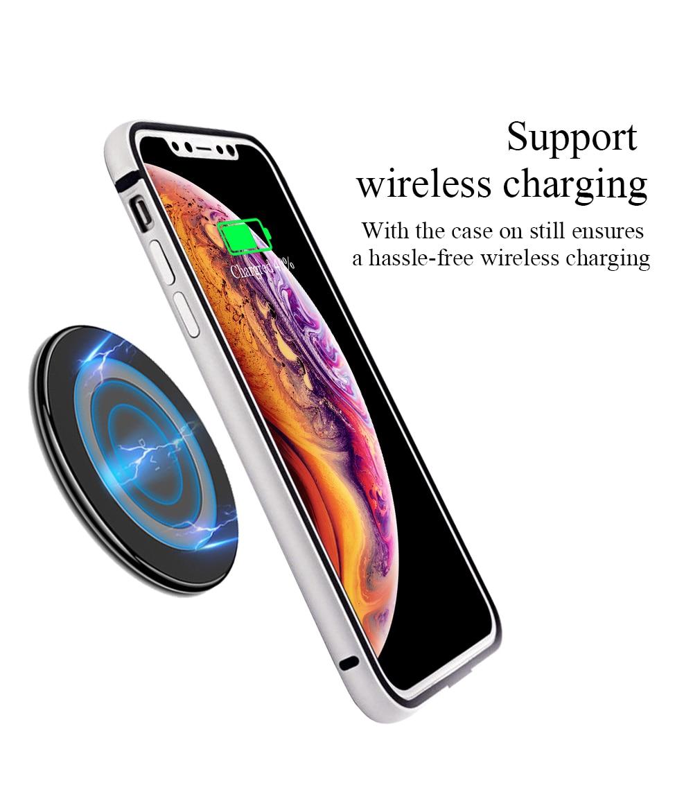 كفر حماية لهاتف أي فون 11 برو ماكس من السيليكون للصدمات آيفون 11 X XS XR 7 8 Plus