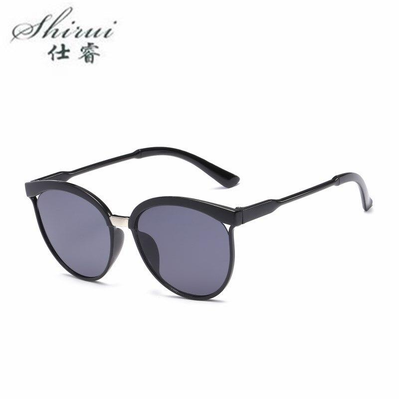 2019 Fashion Women Colour Luxury Flat Top Oval Sunglasses Elegant Oculos De Sol Men Twin Beam Oversized Sun Glasses UV400 Shades