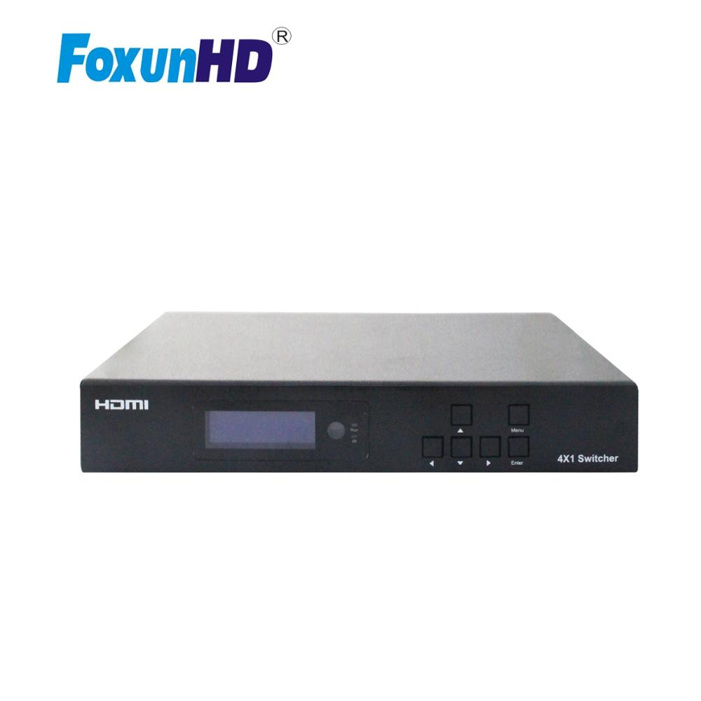 SX-SWE01B HDMI2.0 HDR, 18GBPS Support IR/RS232,/ETHERNET HDBaseT SWITCH 4k 4 Inputs 2 Output Hdmi Switch 4x2